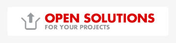 Open solutions for your projects
