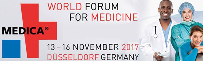 MEDICA 13-16 Novembre 2017 Düsseldorf
