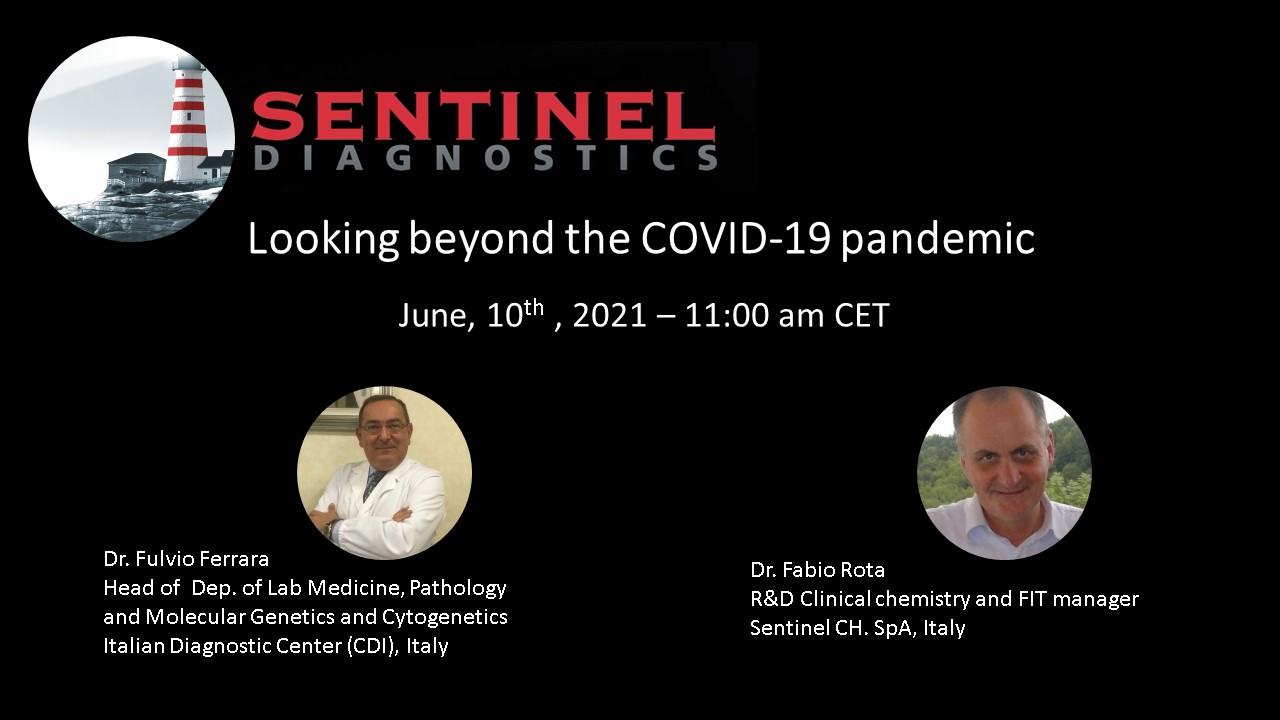 Sentinel Diagnostics organizza una discussione sui test Covid-19 con esperti del settore