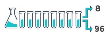 <strong>In quali formati Sentinel può liofilizzare la PCR master mix?</strong>