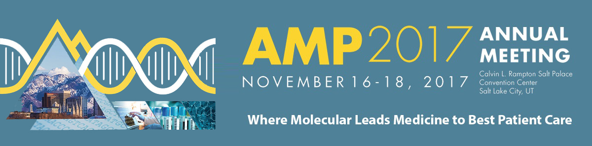 AMP 2017 Annual Meeting – Salt Lake City, UT. 16 to 18 November
