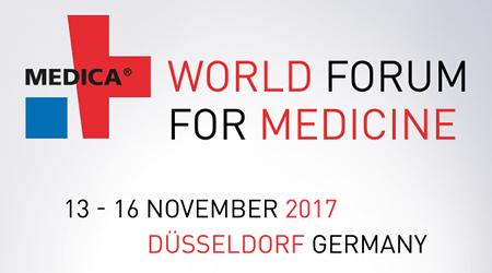 MEDICA – 13 to 16 November 2017 DUSSELDORF