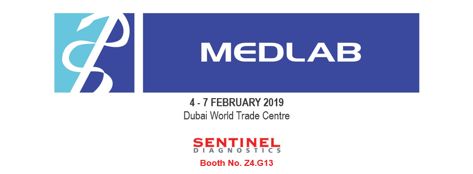 Meet us at MEDLAB 2019