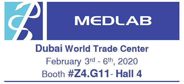 Meet us at MEDLAB DUBAI