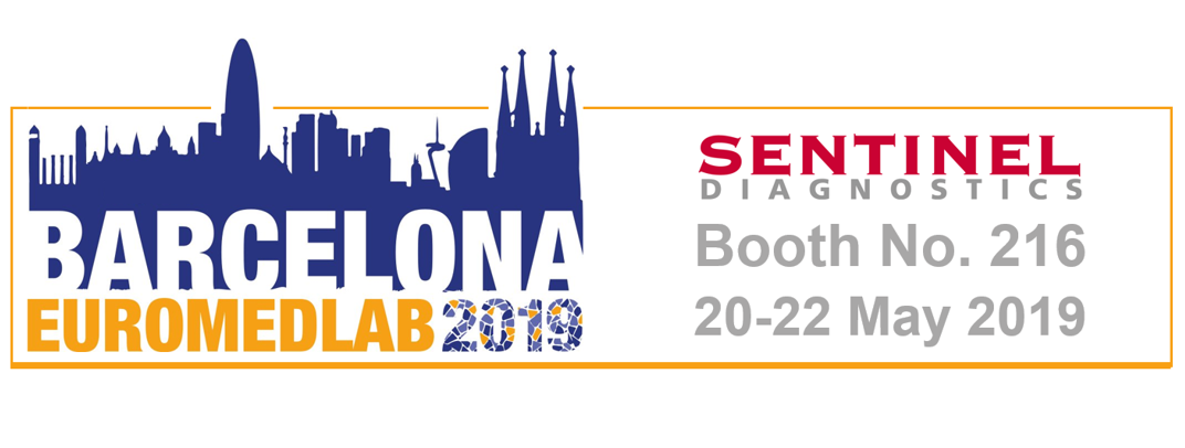 Meet us at EUROMEDLAB 2019